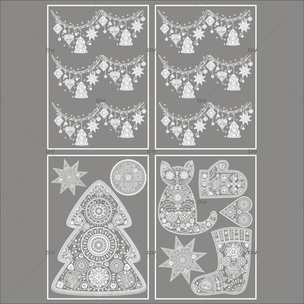 lot-promotionnel-4-stickers-vitrine-noel-russe-cristaux-frises-boules-sapins-chat-botte-gant-electrostatique-sans-colle-repositionnable-DECO-VITRES-KIT113