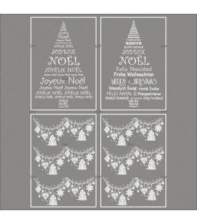 lot-promotionnel-4-stickers-vitrine-noel-russe-cristaux-frises-boules-sapins-textes-joyeux-noeël-multilingue-electrostatique-sans-colle-repositionnable-DECO-VITRES-KIT327