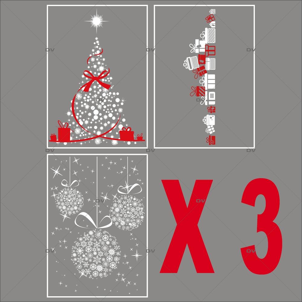 lot-promotionnel-5-stickers-vitrine-noel-girly-frises-suspensions-de-boules-en-cristaux-sapin-noeud-rouge-frise-cadeaux-blanc-rouge-irise-electrostatique-sans-colle-repositionnable-DECO-VITRES-KIT330