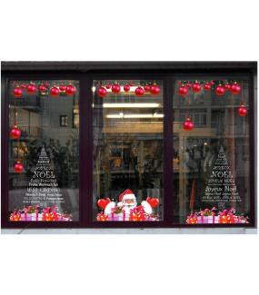 photo-decoration-vitrine-noel-sticker-electrostatique-vitrophanie-frise-boules-pere-noel-frises-cadeaux-sapin-textes-francais-langues-etrangeres-europeen-international-vitrophanie-reutilisable-DECO-VITRES