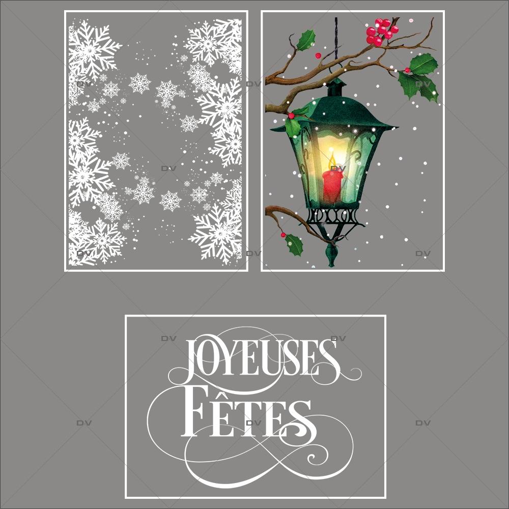 lot-promotionnel-3-stickers-vitrine-noel-retro-frises-entourage-cristaux-lanterne-branches-de-houx-joyeuses-fetes-electrostatique-sans-colle-repositionnable-DECO-VITRES-KIT145