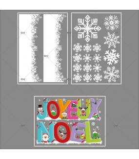 lot-promotionnel-3-stickers-vitrine-noel-cartoon-frises-de-cristaux-banderolle-joyeux-noel-electrostatique-sans-colle-repositionnable-DECO-VITRES-KIT137