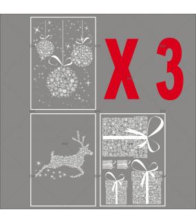 lot-promotionnel-3-stickers-vitrine-noel-nature-frises-de-boules-suspendues-renne-paquets-cadeaux-en-cristaux-electrostatique-sans-colle-repositionnable-DECO-VITRES-KIT77
