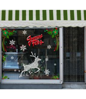 photo-vitrine-decoration-noel-sticker-renne-boucherie-charcuterie-cristaux-angles-houx-vitrophanie-electrostatique-DECO-VITRES
