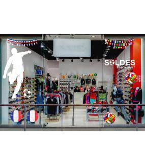 Sticker-ballons-de-foot-drapeaux-internationaux-français-France-vitrophanie-décoration-vitrine-événementielle-électrostatique-sports-fêtes-sans-colle-repositionnable-réutilisable-DECO-VITRES