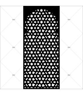sticker-moucharabieh-format-personnalise-adhesif-noir-mat-DECO-VITRES-DSP1909