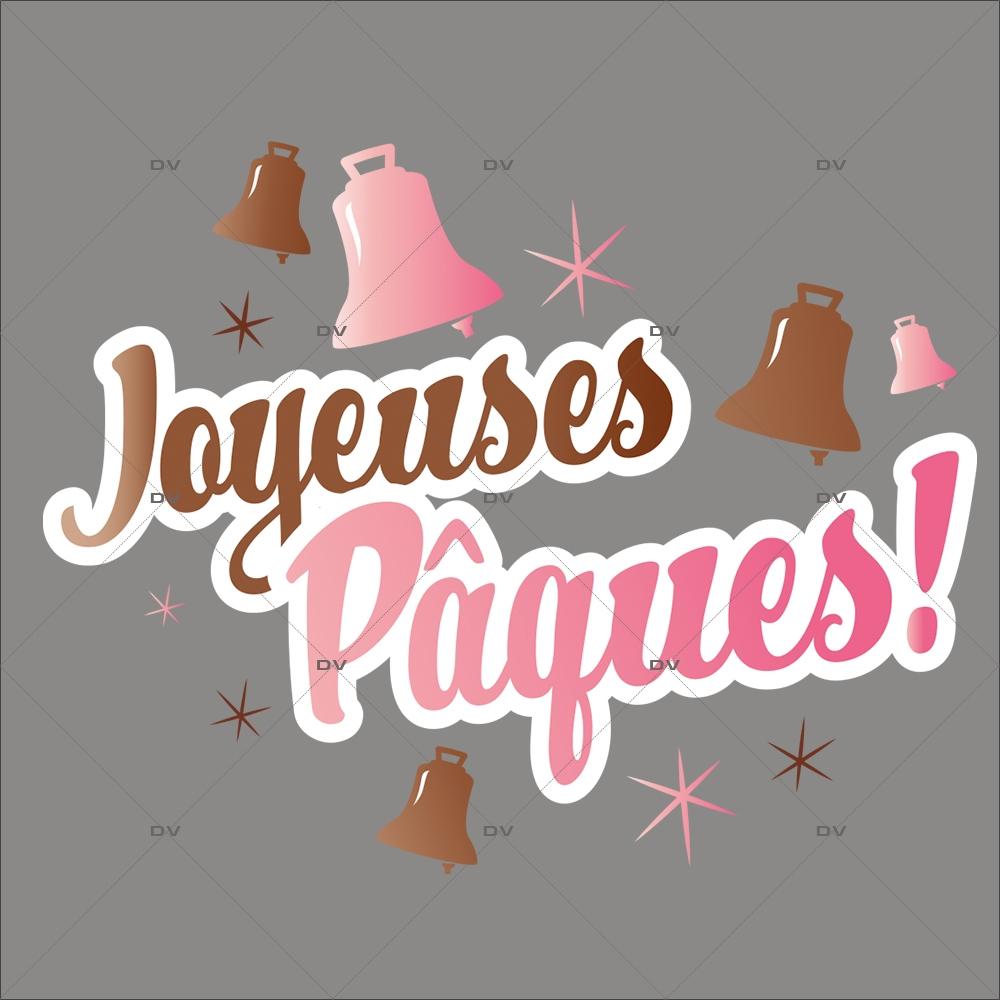 sticker-texte-joyeuses-paques-rose-fraise-et-chocolat-cloches-decoration-vitrine-paques-vitrophanie-electrostatique-sans-colle-reutilisable-DECO-VITRES-PAQ97