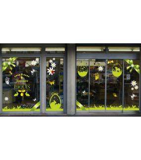 photo-decoration-paques-vitrine-vitre-electrostatique-sans-colle-reutilisable-noeud-cadeau-poule-poussin-lapin-agneau-oeuf-papillon-herbe-fleur-paquerette-DECO-VITRES