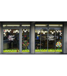 photo-decoration-vitrine-paques-frises-herbes-oeufs-lapins-paquerettes-arbres-oiseaux-fleurs-texte-joyeuses-paques-vitrophanies-electrostatique-reutilisables-DECO-VITRES