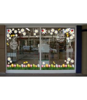 photo-vitrine-paques-sticker-electrostatique-sans-colle-reutilisable-lapin-oeuf-agneau-joyeuses-paques