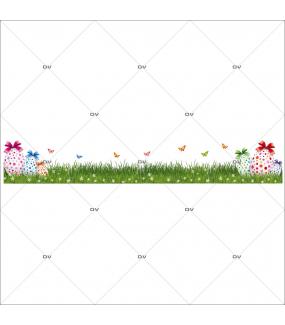 sticker-frise-geante-paques-oeufs-papillons-herbe-fleurs-decoration-vitrine-paques-vitrophanie-electrostatique-sans-colle-reutilisable-DECO-VITRES-PAQ99
