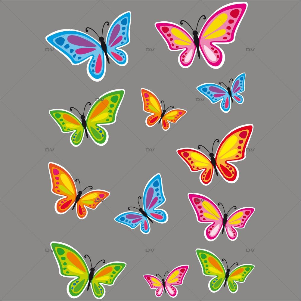 sticker-papillons-multicolores-printemps-decoration-vitrine-vitrophanie-paques-electrostatique-sans-colle-reutilisable-DECO-VITRES-PAP16