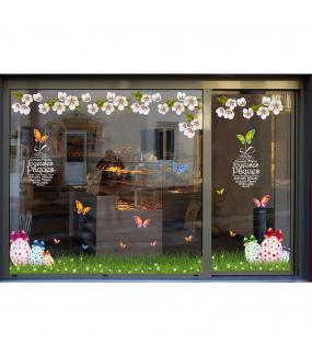 photo-sticker-frise-geante-oeufs-herbe-papillons-fleurs--de-cerisier-texte-joyeuses-paques-decoration-vitrine-vitrophanie-electrostatique-sans-colle-reutilisable-DECO-VITRES