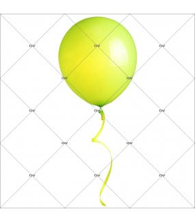 sticker-ballon-vert-anis-printemps-anniversaire-paques-romantique-st-valentin-fete-des-meres-decoration-vitrine-vitrophanie-paques-electrostatique-sans-colle-reutilisable-DECO-VITRES-BALV