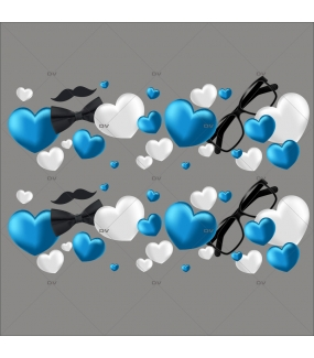 sticker-frises-de-coeurs-bleus-blancs-lunettes-moustache-noeud-papillon-fete-des-peres-vitrophanie-electrostatique-sans-colle-DECO-VITRES-FP5