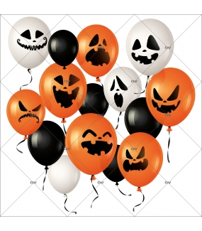 sticker-ballons-halloween-orange-noirs-blancs-citrouille-fantome-effrayant-boulangerie-patisserie-vitrophanie-electrostatique-sans-colle-repositionnable-DECO-VITRES-HALL94