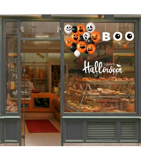 vitrine-halloween-stickers-electrostatiques-vitrophanie-ballons-yeux-injectes-sang-boo-texte-happy-halloween-toiles-araignee-deco-vitres