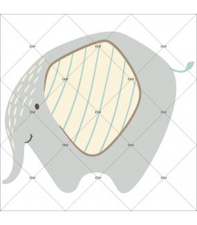 sticker-elephant-jungle-chambre-enfant-tissu-enlevable-encres-ecologiques-latex-sans-pvc-DECO-VITRES-ST132i