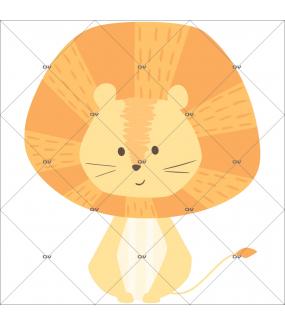 sticker-lion-jungle-chambre-enfant-tissu-enlevable-encres-ecologiques-latex-sans-pvc-DECO-VITRES-ST129i