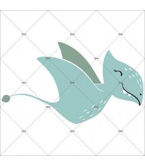sticker-gentil-dinosaure-volant-rieur-pteranodon-prehistoire-chambre-bébé-fille-enfant-tissu-adhesif-enlevable-encres-ecologiques-latex-sans-pvc-DECO-VITRES-ST145i