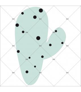sticker-cactus-2-bras-prehistoire-chambre-bébé-fille-enfant-tissu-adhesif-enlevable-encres-ecologiques-latex-sans-pvc-DECO-VITRES-ST152
