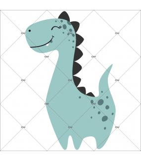 sticker-gentil-dinosaure-rieur-diplodocus-prehistoire-chambre-bébé-fille-enfant-tissu-adhesif-enlevable-encres-ecologiques-latex-sans-pvc-DECO-VITRES-ST143