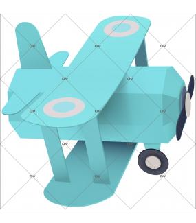 sticker-avion-chambre-bebe-garcon-enfant-tissu-adhesif-enlevable-encres-ecologiques-latex-sans-pvc-DECO-VITRES-ST161