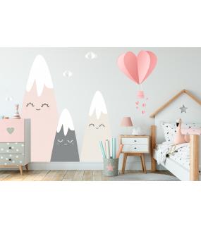 photo-stickers-montgolfiere-coeurs-montagnes-rieuses-et-endormie-soleil-et-nuages-chambre-enfant-fille-tissu-adhesif-enlevable-encres-ecologiques-latex-sans-pvc-deco-vitres