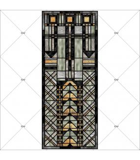 sticker-vitrail-art-deco-geometrique-noir-gris-dore-or-electrostatique-ou-adhesif-ou-effet-depoli-DECO-VITRES-VIT409