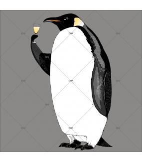 sticker-pingouin-polaire-noeud-papillon-reveillon-vin-champagne-caviste-noel-theme-polaire-arctique-cotillon-gourmet-gourmand-vitrine-noel-electrostatique-vitrophanie-sans-colle-DECO-VITRES-PG4D