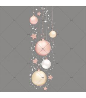 sticker-suspensions-boules-roses-poudre-champagne-vitrine-noel-romantique-boudoir-electrostatique-vitrophanie-sans-colle-DECO-VITRES-FB48