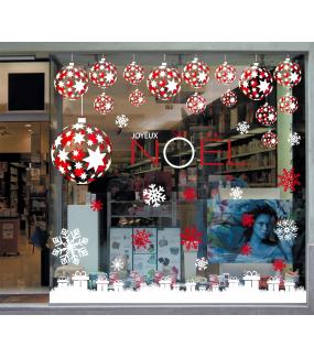 photo-sticker-frises-boules-etoiles-rouges-blanches-cristaux-cadeaux-blancs-texte-joyeux-noel-festif-decoration-vitrine-vitrophanie-electrostatique-sans-colle-reutilisable-DECO-VITRES