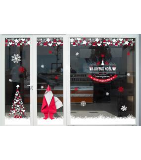 photo-decoration-vitrine-noel-gris-cristaux-rouge-pere-noel-cadeau-sapin-banniere-etoiles-coeurs-origami-vitrophanie-electrostatique-DECO-VITRES