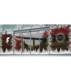 vitrine-noel-decoration-paysage-enneige-sports-d-hiver-ski-vitrophanies-noel-electrostatique-sans-colle-stickers-DECO-VITRES