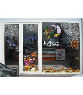 halloween-photo-decoration-sticker-electrostatique-vitrine-chauve-souris-sorcieres-citrouilles-toile-araignee-vitrophanie-DECO-VITRES