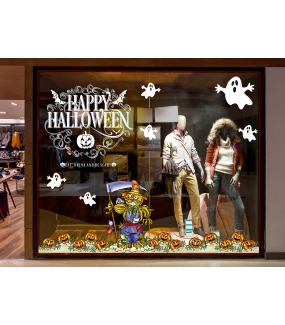 halloween-photo-decoration-sticker-electrostatique-vitrine-fantomes-frises-citrouille-epouvantail-texte-happy-halloween-volutes-vitrophanie-DECO-VITRES