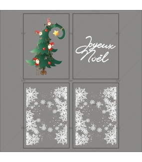 kit-sticker-frises-entourage-cristaux-sapin-lutins-cartoon-texte-joyeux-noel-noel-cartoon-enfants-ludique-decoration-vitrine-vitrophanie-electrostatique-sans-colle-reutilisable-DECO-VITRES