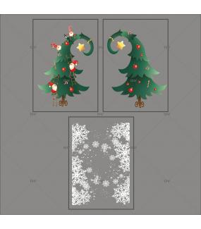 kit-stickers-frises-entourage-cristaux-sapin-lutins-cartoon-texte-joyeux-noel-noel-cartoon-enfants-ludique-decoration-vitrine-vitrophanie-electrostatique-sans-colle-reutilisable-DECO-VITRES