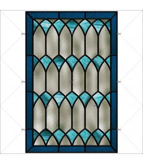 sticker-vitrail-geometrique-bleu-gris-ogive-art-gothique-vintage-retro-vitrophanie-electrostatique-sans-colle-repositionnable-reutilisable-adhesif-decoration-fenetres-vitres-veranda-DECO-VITRES