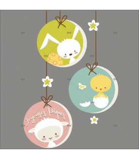 sticker-suspension-etiquettes-lapin-poussin-oeuf-agneau-fleurs-joyeuses-paques-decoration-vitrine-paques-vitrophanie-electrostatique-sans-colle-reutilisable-DECO-VITRES-PAQ119