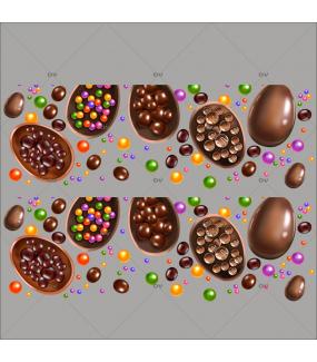 sticker-frises-oeufs-de-paques-chocolat-bonbons-multicolore-decoration-vitrine-paques-vitrophanie-electrostatique-sans-colle-reutilisable-DECO-VITRES-PAQ127