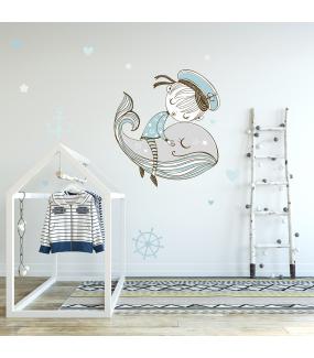 photo-chambre-enfant-petit-marin-endormi-capitaine-baleine-ancre-barre-a-roue-etoiles-coeurs-chambre-bebe-garcon-tissu-adhesif-enlevable-sans-pvc-encres-ecologiques-latex-DECO-VITRES