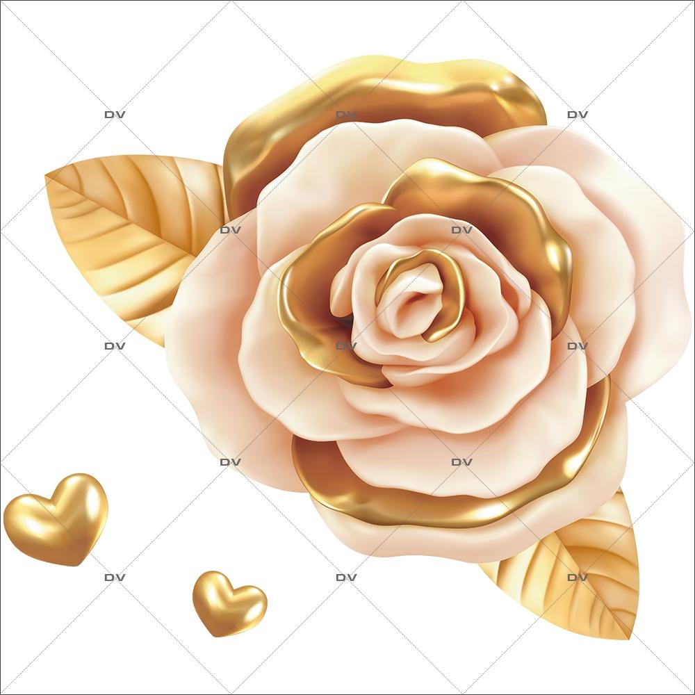sticker-rose-doree-coeurs-or-electrostatique-sans-colle-repositionnable-DECO-VITRES-SV69D