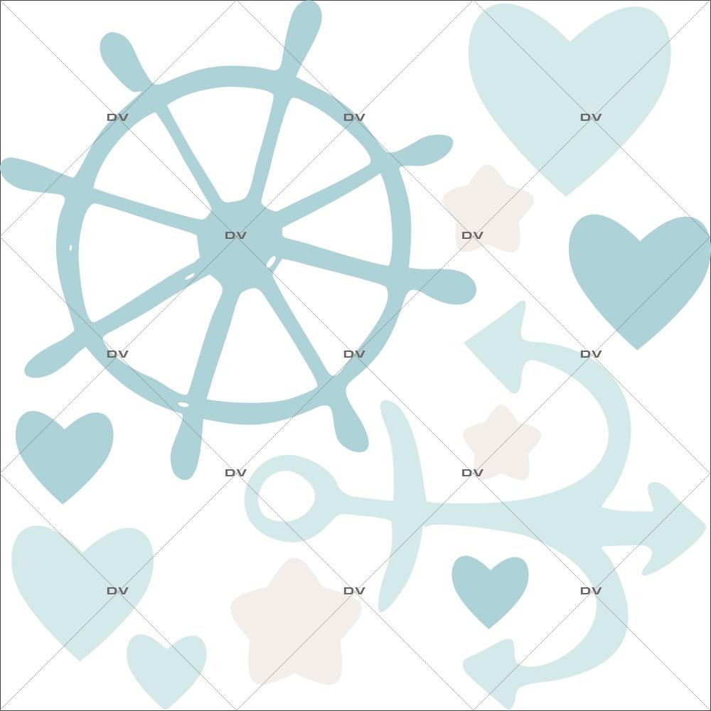 sticker-mural-barre-a-roue-coeurs-etoiles-ancre-bleus-petit-marin-chambre-bebe-enfant-garcon-fille-tissu-adhesif-enlevable-sans-pvc-encres-latex-ecologiques-mural-DECO-VITRES-ST174