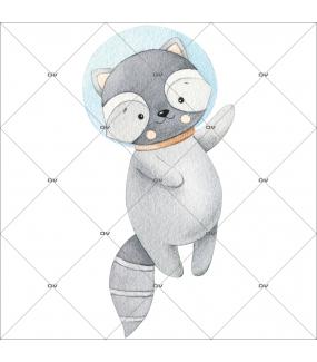 sticker-mural-raton-laveur-dans-l-espace-chambre-bebe-enfant-garcon-fille-tissu-adhesif-enlevable-sans-pvc-encres-latex-ecologiques-mural-DECO-VITRES-ST195