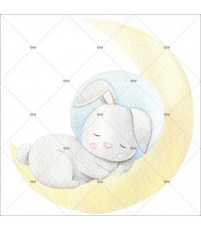 sticker-mural-lapin-cosmonaute-endormi-sur-la-lune-extra-terrestre-espace-chambre-bebe-enfant-garcon-fille-tissu-adhesif-enlevable-sans-pvc-encres-latex-ecologiques-mural-DECO-VITRES-ST180