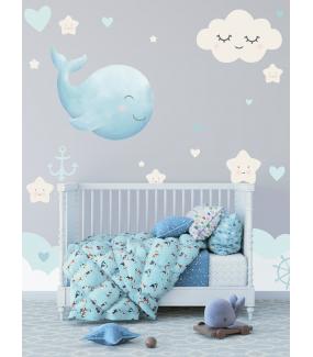photo-chambre-enfant-baleine-marine-nuage-doux-reves-etoiles-dodo-barre-a-roue-coeurs-bebe-garcon-tissu-adhesif-enlevable-sans-pvc-encres-ecologiques-latex-DECO-VITRES