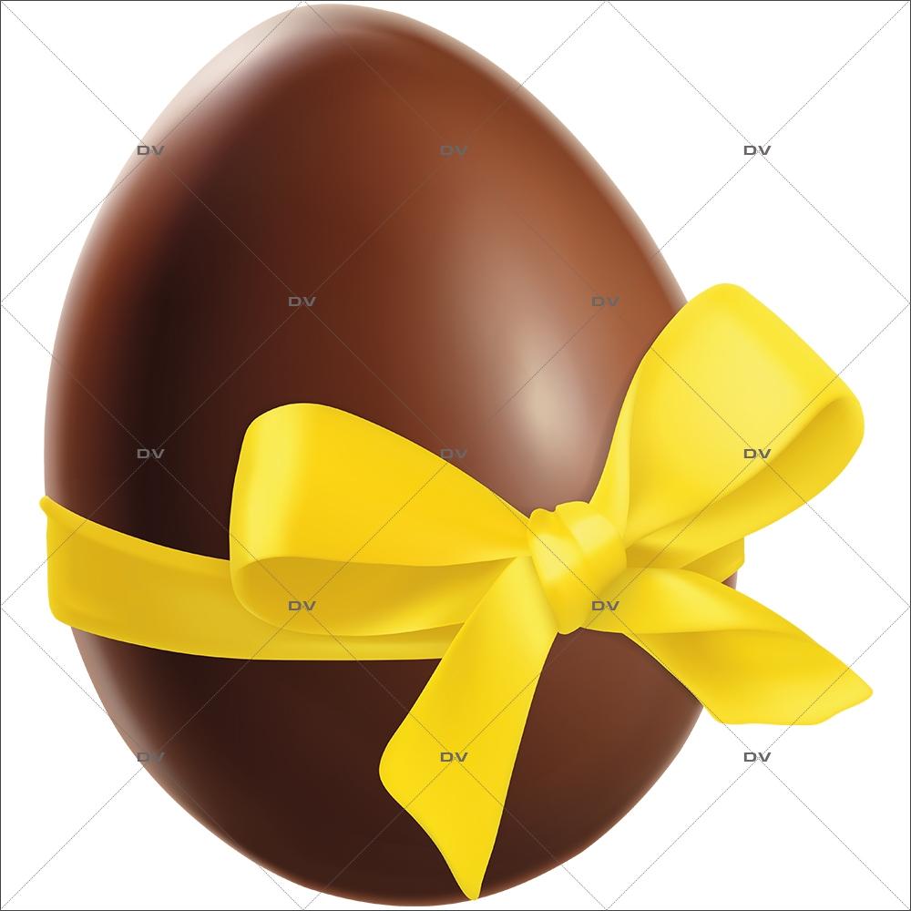 sticker-oeuf-de-paques-chocolat-ruban-noeud-cadeau-jaune-boulangerie-patisserie-decoration-vitrine-vitrophanie-electrostatique-sans-colle-reutilisable-DECO-VITRES-PAQ139