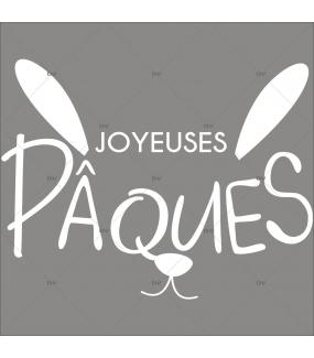 sticker-texte-joyeuses-paques-oreilles-museau-lapin-blanc-boulangerie-patisserie-decoration-vitrine-vitrophanie-electrostatique-sans-colle-reutilisable-DECO-VITRES-PAQ130