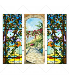 lot-3-stickers-vitraux-paysages-formats-personnalises-adhesif-encres-semi-opaques-DECO-VITRES-VITP2184
